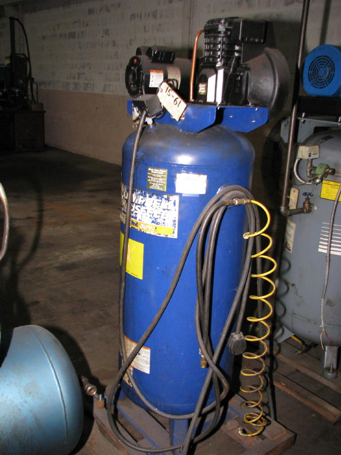 Campbell Hausfield 6 Hp 1 Phase Vertical Air Compressor Ebay