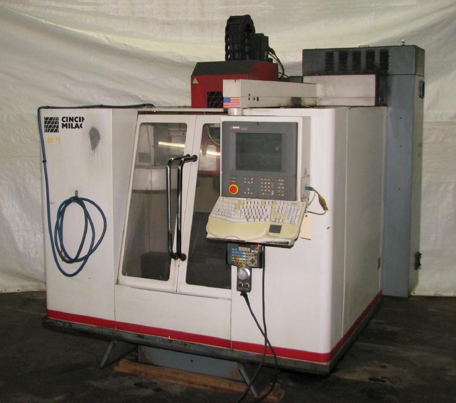 Cincinnati Milacron 3 Axis CNC Vertical Machining Center Arrow 500 ERO
