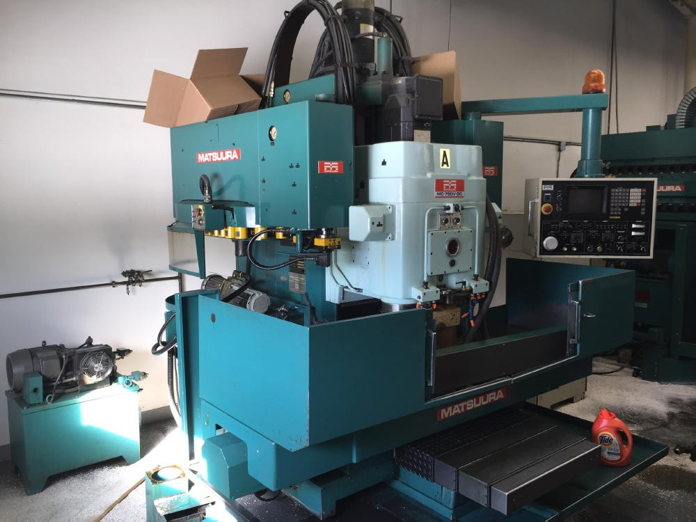 Millers Matsuura Twin Spindle 3 Axis Cnc Vertical